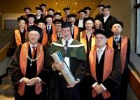 Honorary doctorate professor Norman