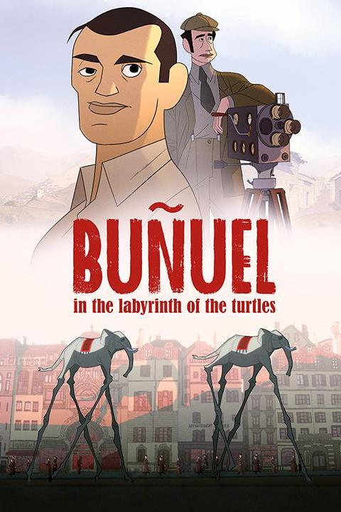Recensie Buñuel in the Labyrinth of the Turtles (2019)