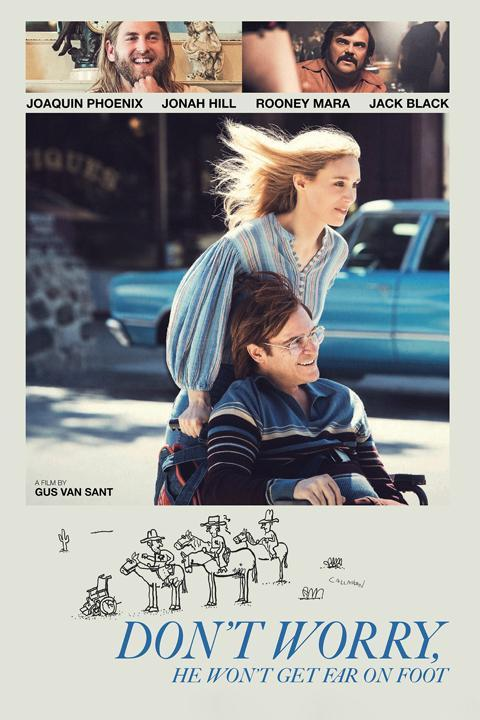 Recensie Don't Worry, He Won't Get Far on Foot (2018)