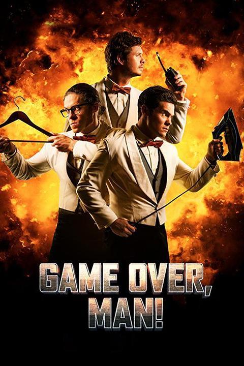 Recensie Game Over, Man! (2018)