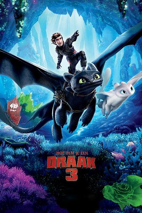 Recensie How to Train Your Dragon 3 (2019)