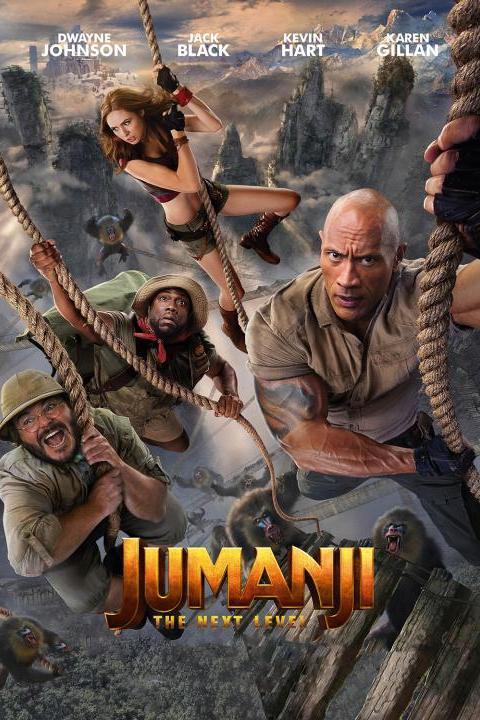 Recensie Jumanji: The Next Level (2019)