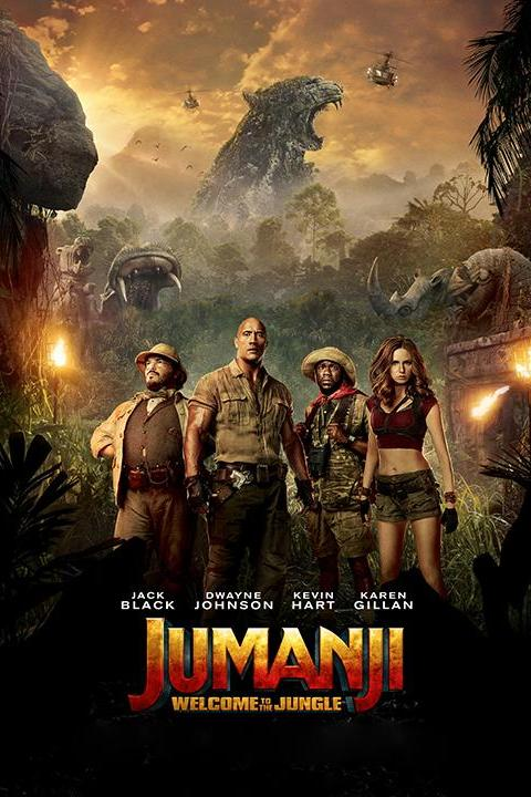 Recensie Jumanji: Welcome to the Jungle (2017)
