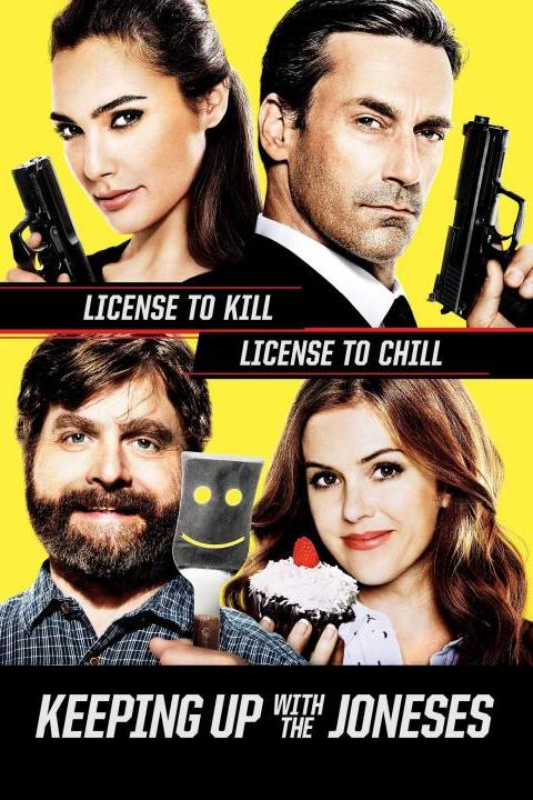 Recensie Keeping Up With The Joneses (2016)