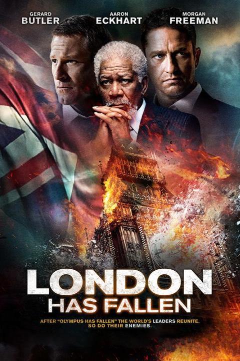 Recensie London has Fallen (2016)