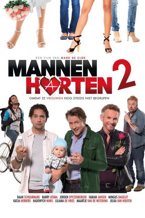 Recensie Mannenharten 2 (2015)