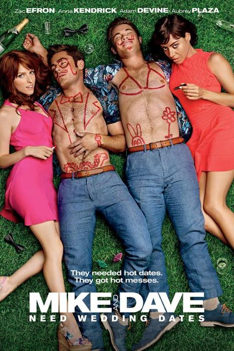 Recensie Mike and Dave Need Wedding Dates (2016)