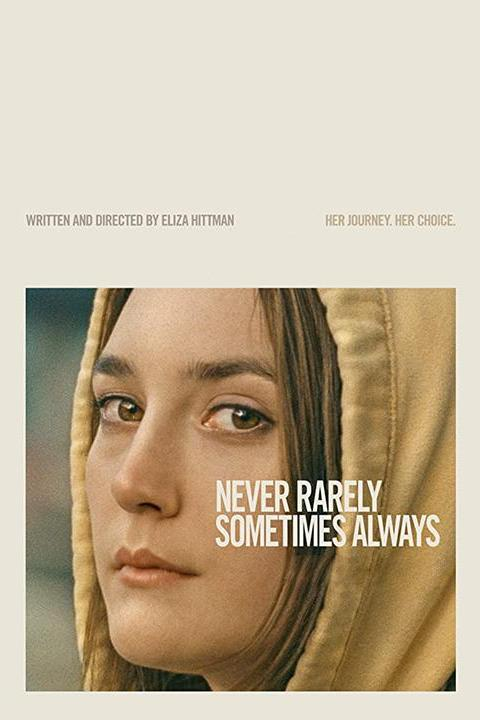 Recensie Never Rarely Sometimes Always (2020)