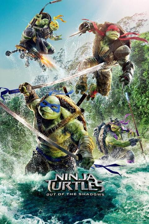 Recensie Ninja Turtles: Out of the Shadows (2016)