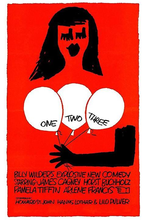Recensie One, Two, Three (1961)
