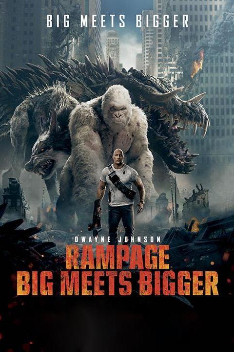 Recensie Rampage: Big Meets Bigger (2018)