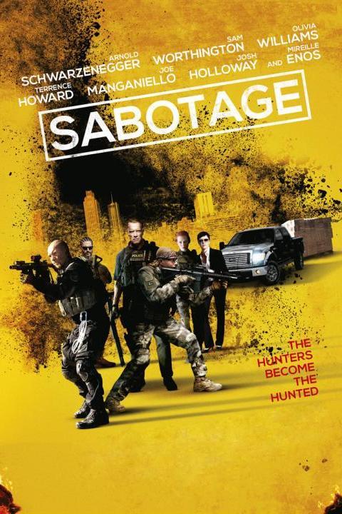 Recensie Sabotage (2014)