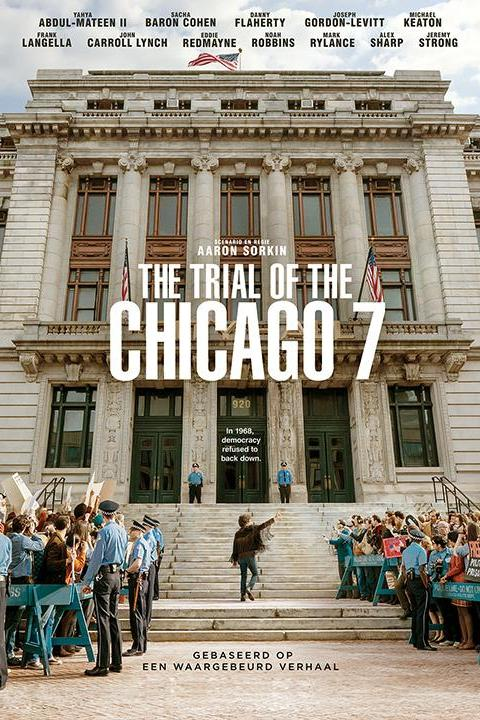 Recensie The Trial of the Chicago 7 (2020)