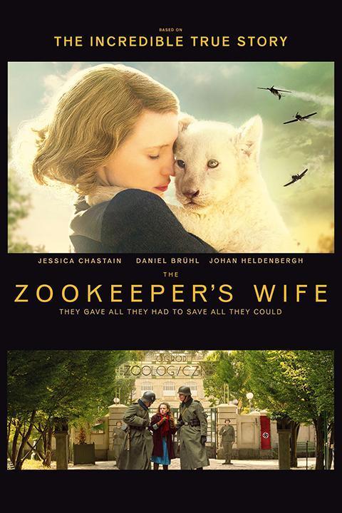 Recensie The Zookeeper's Wife (2017)