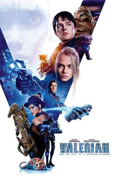 Recensie Valerian and the City of a Thousand Planets (2017)