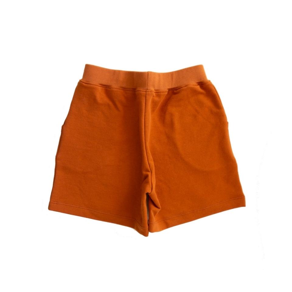Korte broek rechte zakken achterkant