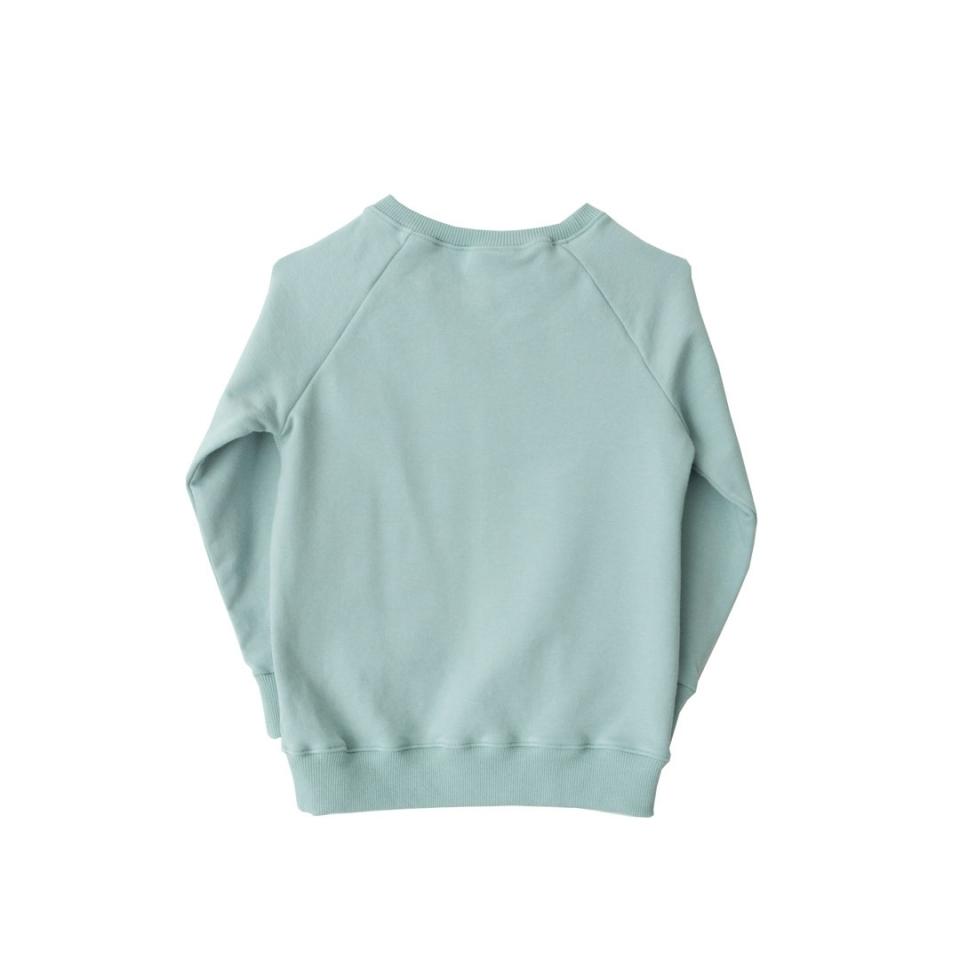 Sweater Herfstbladeren achterkant