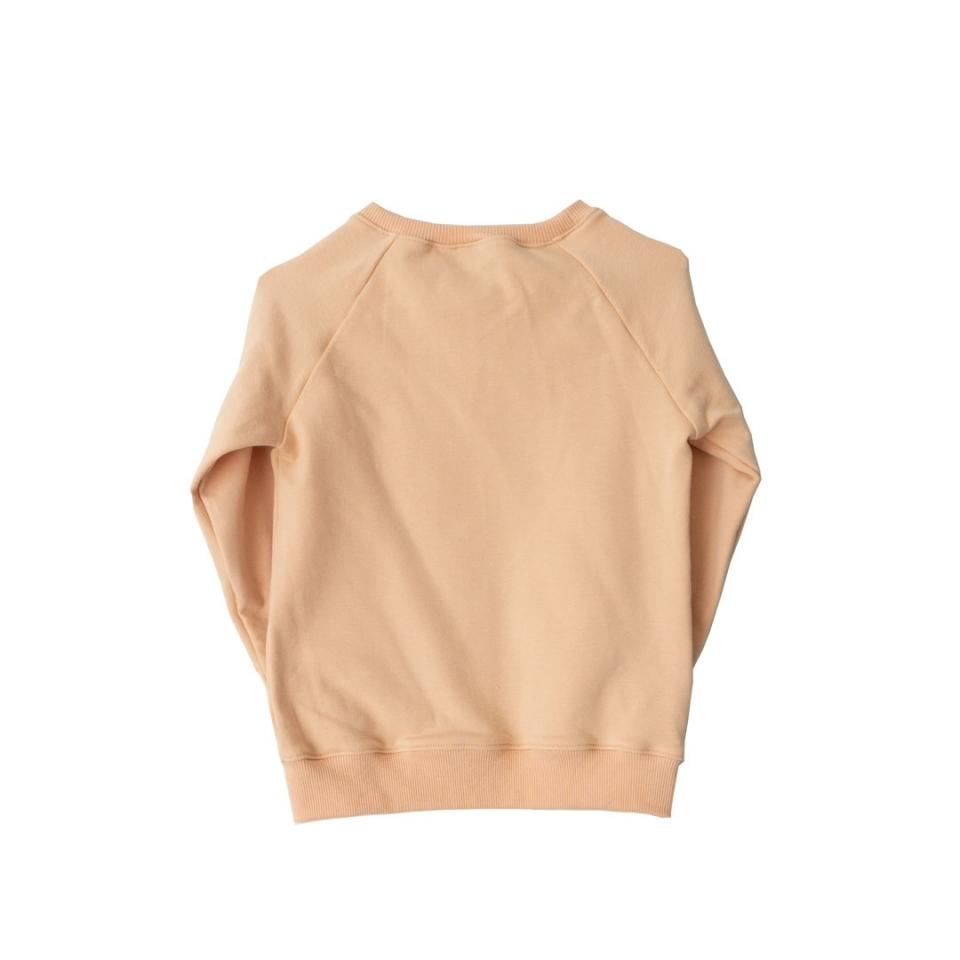 Sweater Bloemen achterkant