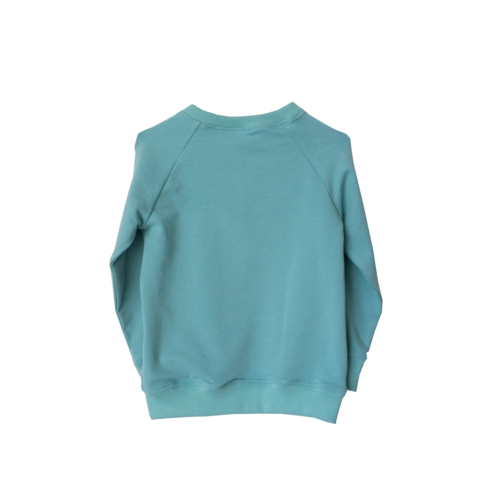Sweater Joep de Inktvis achterkant
