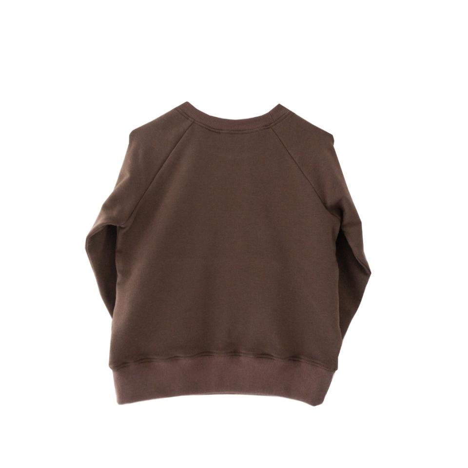 Sweater met zakken achterkant