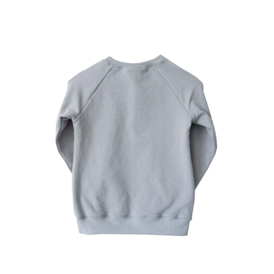 Sweater met Letter achterkant