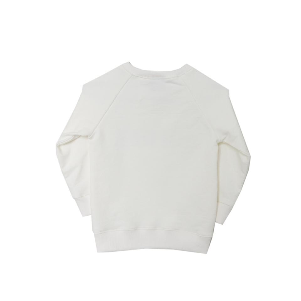 Sweater Doerak ecru achterzijde