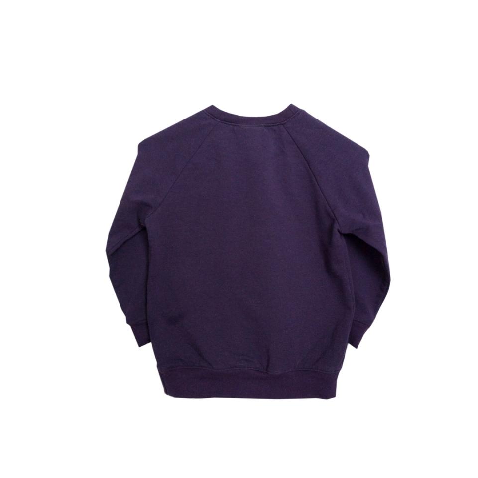 Sweater Charmeur paars achterzijde