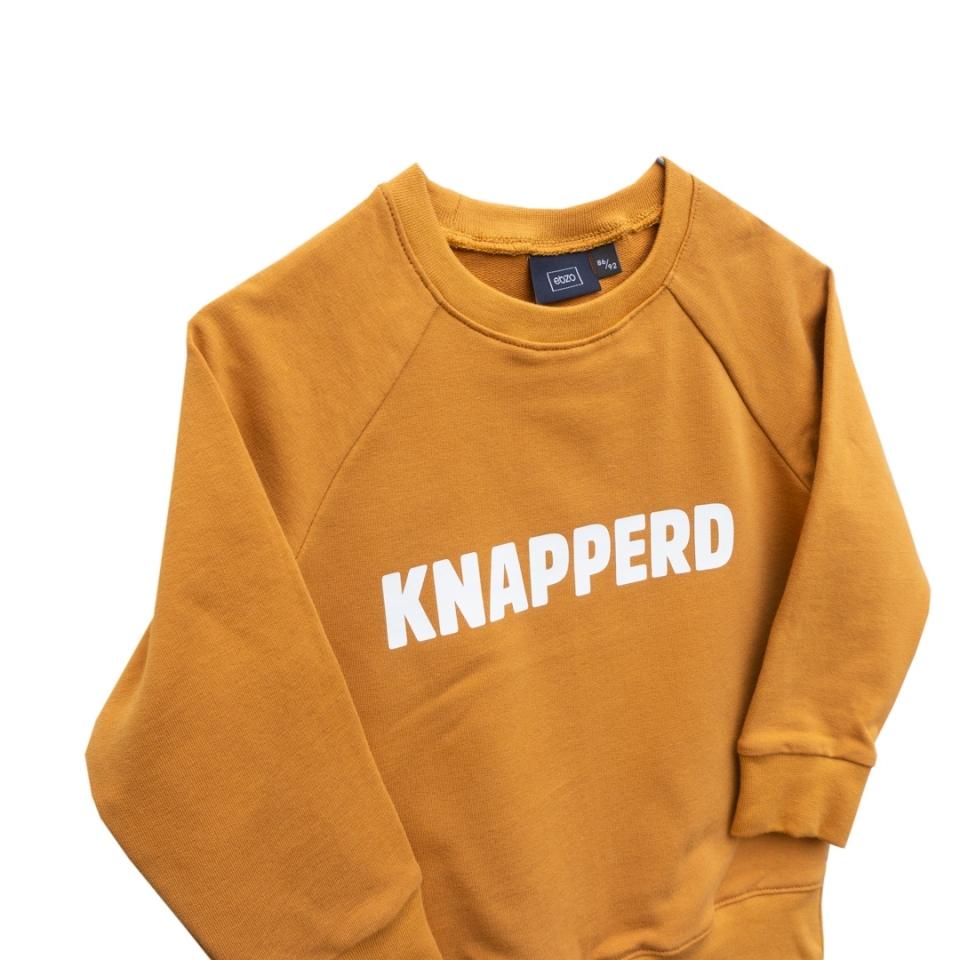 Sweater Knapperd (86/92) close-up