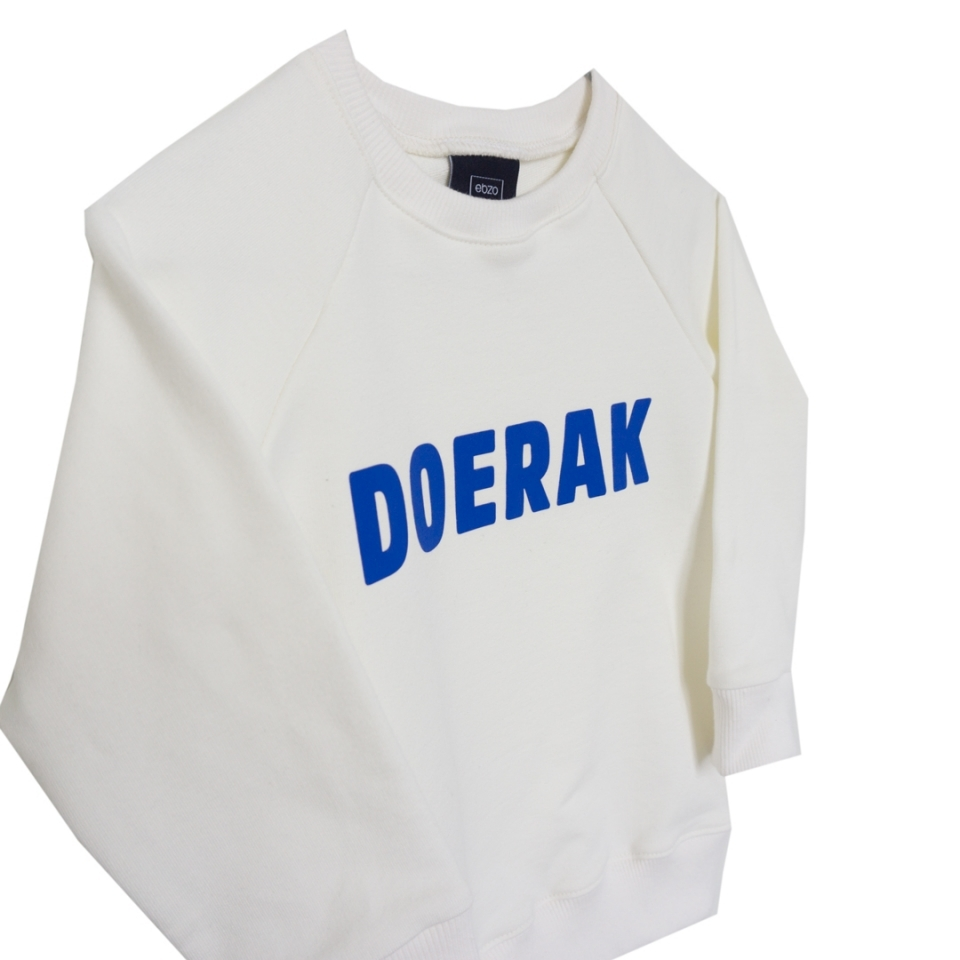 Sweater Doerak ecru close-up