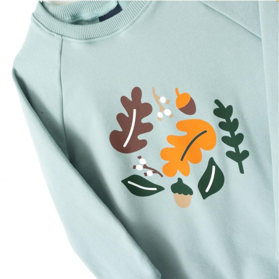 Sweater Herfstbladeren close