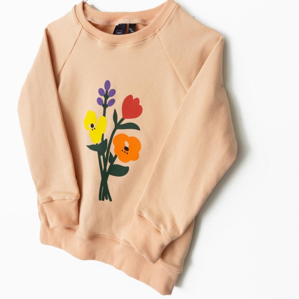 Sweater Bloemen close