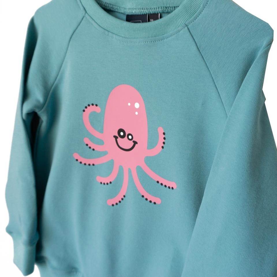 Sweater Joep de Inktvis close