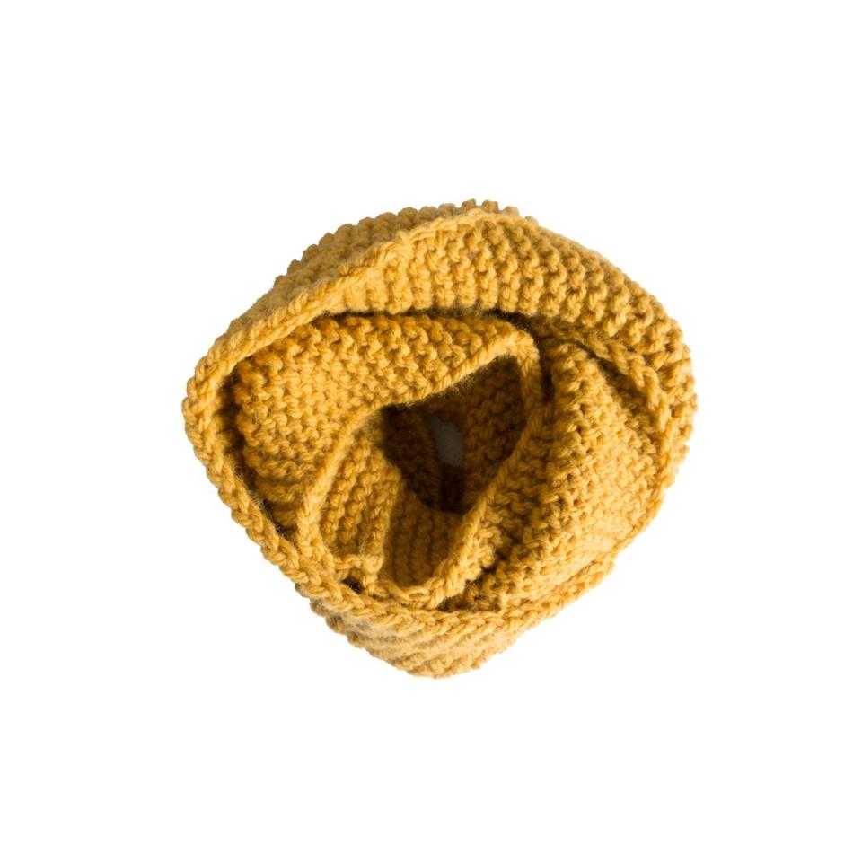 Colsjaal ribbel geel