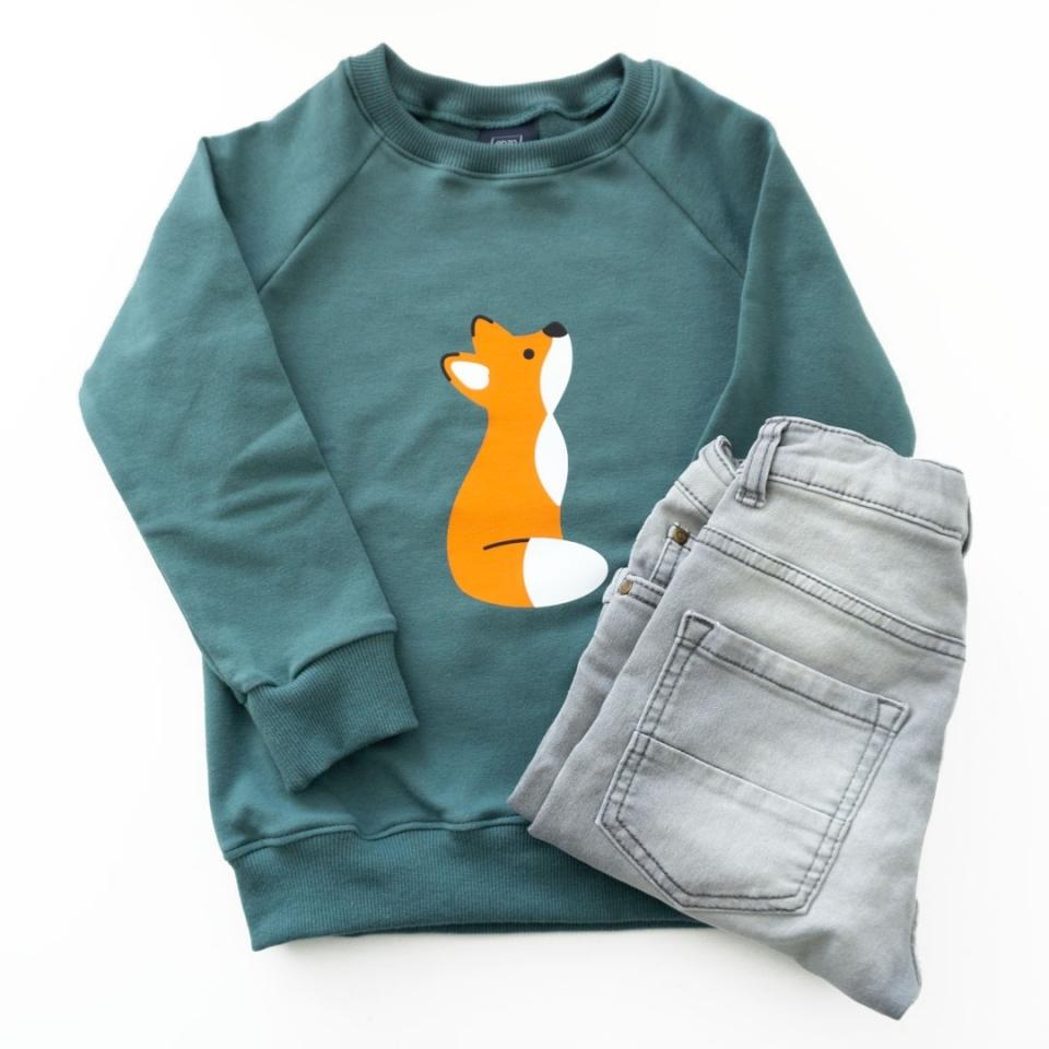 Sweater(jurk) Vosje sfeer