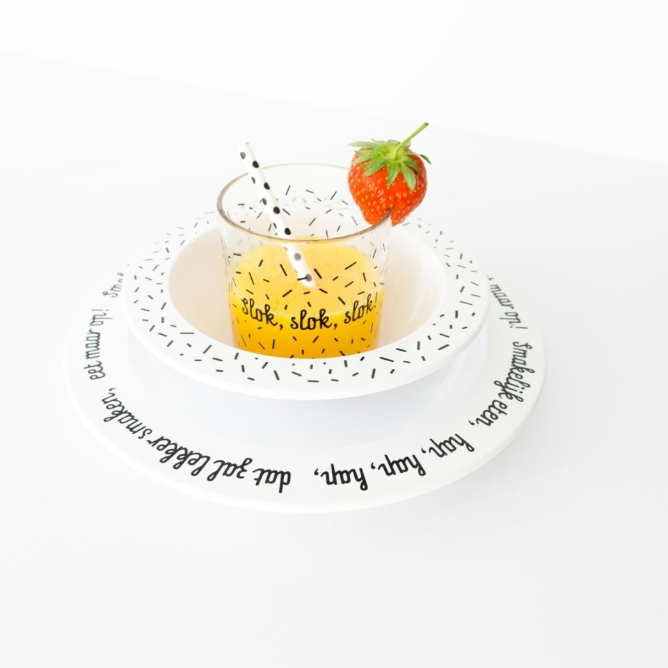 Bord Smakelijk eten sfeer 1