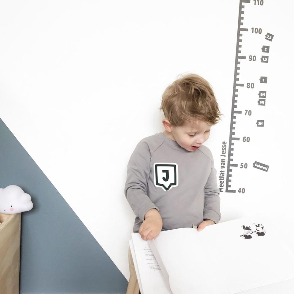 Sweater met Letter sfeer 2