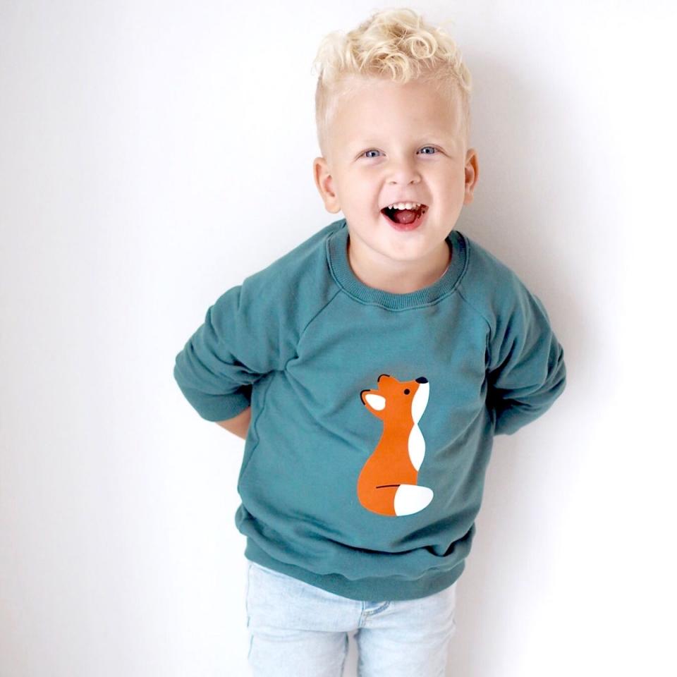 Sweater(jurk) Vosje sfeer 2