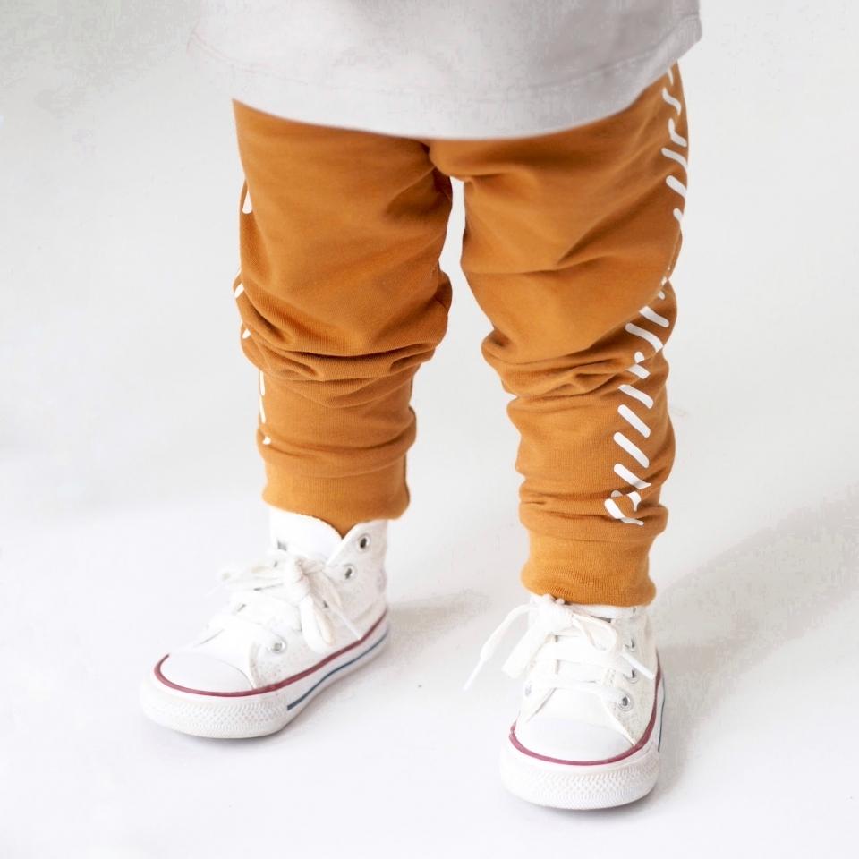 Legging met strepen sfeer 2