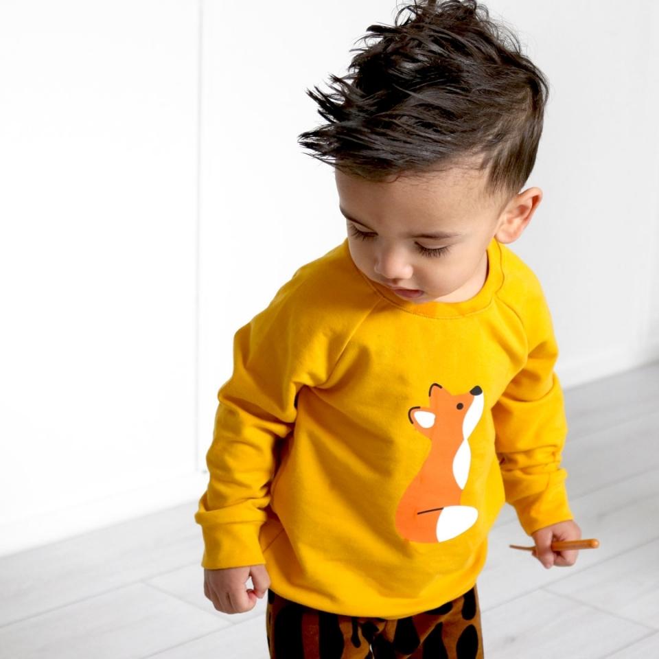 Sweater(jurk) Vosje sfeer 3