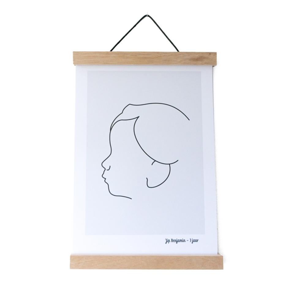Poster hanger A3 sfeer