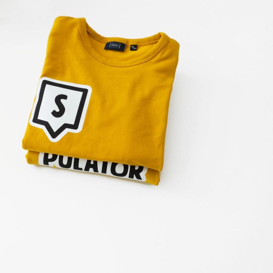 Shirt met Letter sfeer