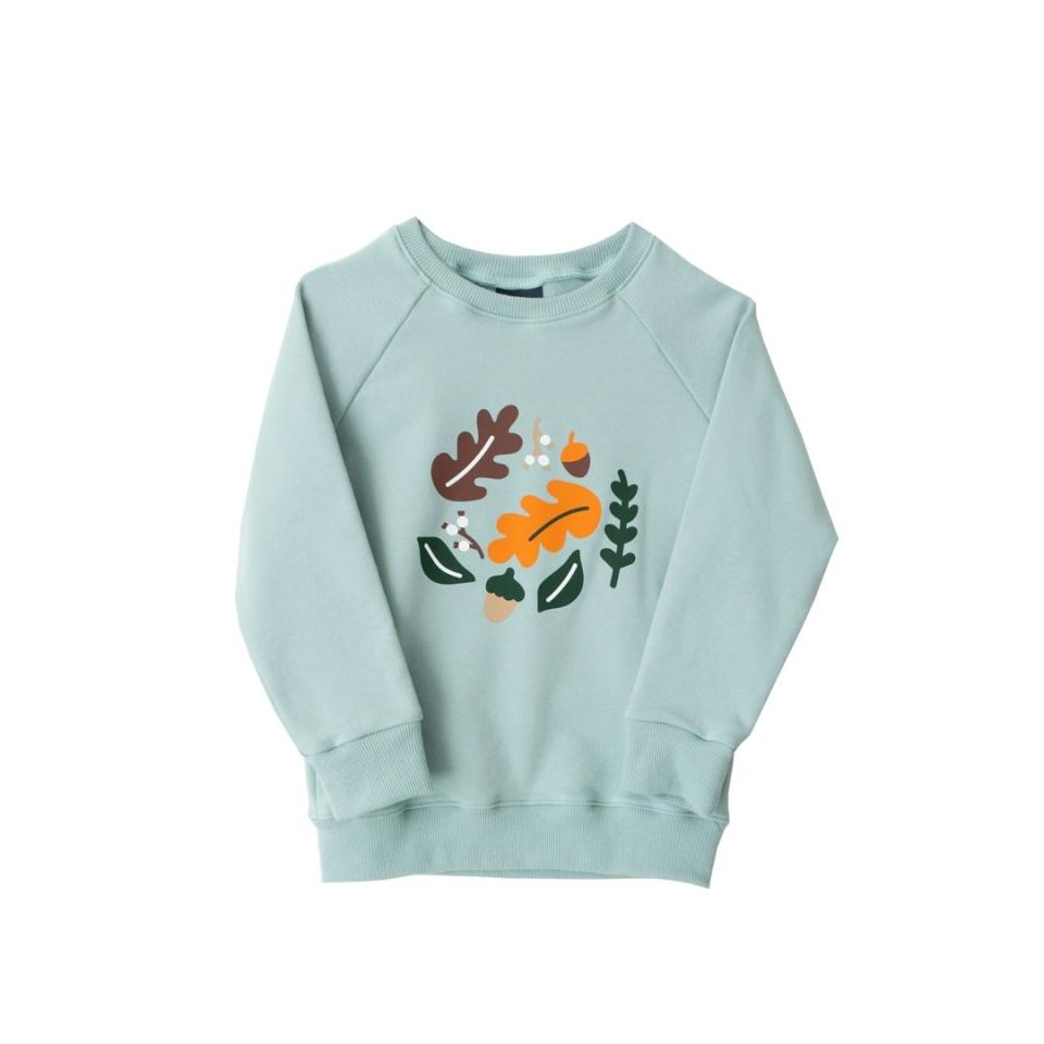 Sweater Herfstbladeren voorkant