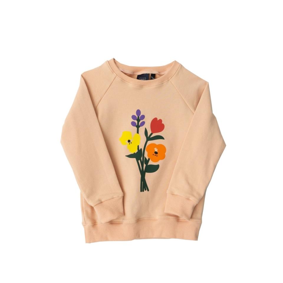 Sweater Bloemen voorkant