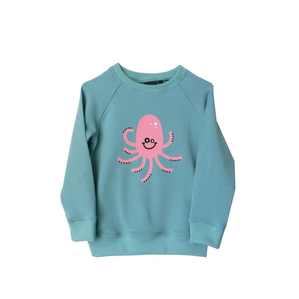 Sweater Joep de Inktvis voorkant