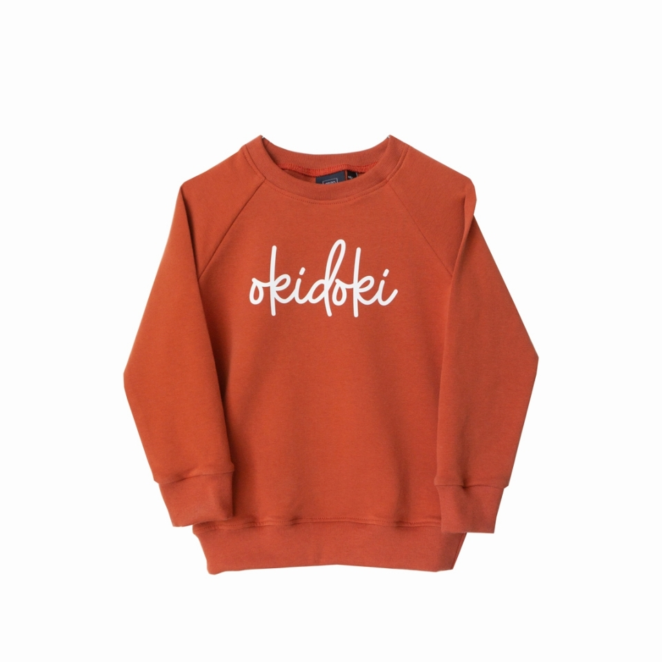 Sweater Okidoki voorkant