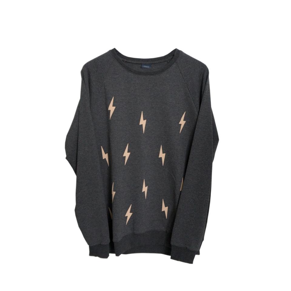 Heren sweater bliksem