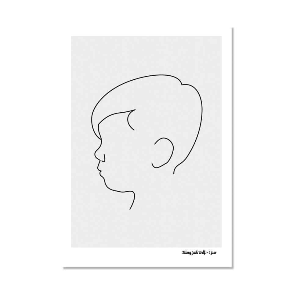 Profiel poster A2 voorkant