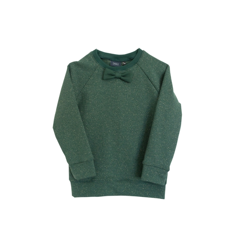 Feest sweater met strikje voorkant