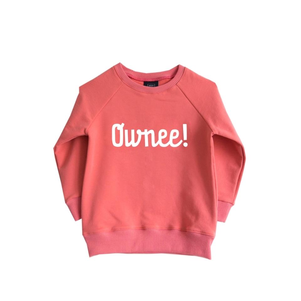 Sweater ownee roze (74/80) voorkant