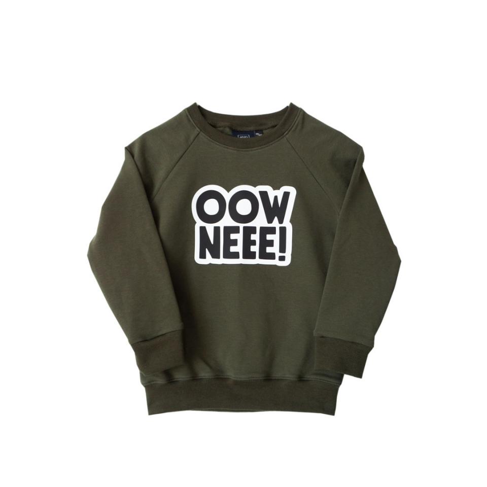 Sweater Ooowneee voorkant